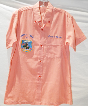 Vietnamese Made 346th Aviation Detachment Party Shirt With Call Sign
