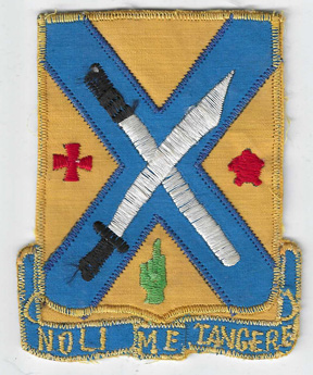 Vietnam 2nd Infantry Regiment Pocket Patch