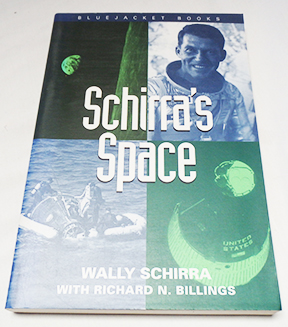 Autographed Copy of Schirra's Space by Wally Schirra Signed By Schirra
