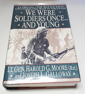 Autographed Copy of We Were Soldiers Once...And Young by Lt. Gen. Harold G. Moore and Joseph L. Galloway Signed by Both Authors