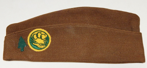 91st Division CCC / Civilian Conservation Corps Overseas Cap