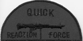 Vietnam Era Quick Reaction Force Pocket Patch