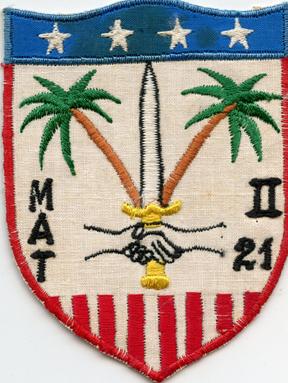 Vietnam MATS / Military Advisory Team 21 Pocket Patch