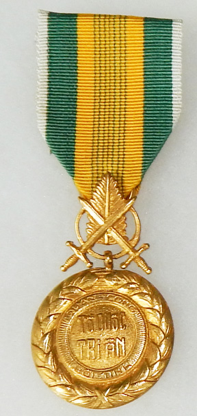 ARVN / South Vietnamese Army Second Republic Military Merit Medal