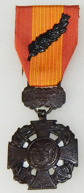 ARVN / South Vietnamese Cross Of Gallantry Palm Class For KIA Medal