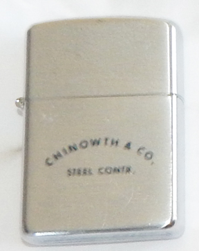 Chinowth & Company Steel Construction Barlow Advertising Lighter