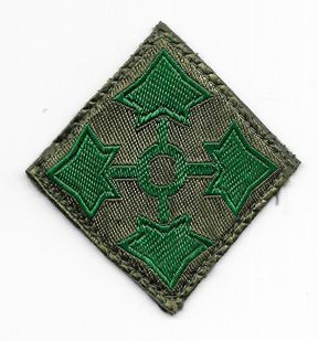 1940's-50's 4th Division German Made Patch