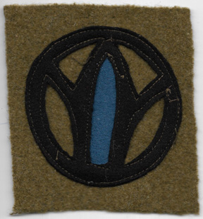 WWI 89th Division 178th Infantry Regiment Patch