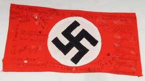 WWII 239th Infantry Cannon Company Captured And Signed German Armband