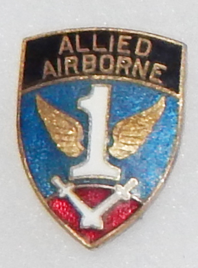WWII 1st Allied Airborne Patch Type DI