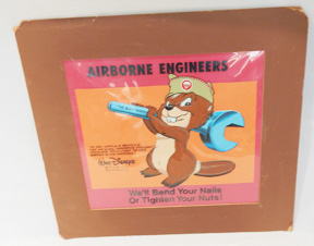 1950's-1960's Disney Design 127th Airborne Engineers Officers Retirement Cell