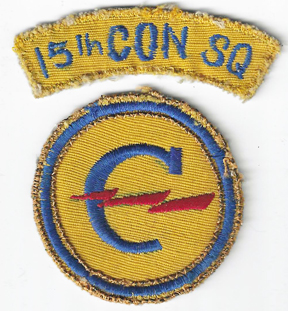 WWII - Occupation 15th Constabulary Squadron Patch Set