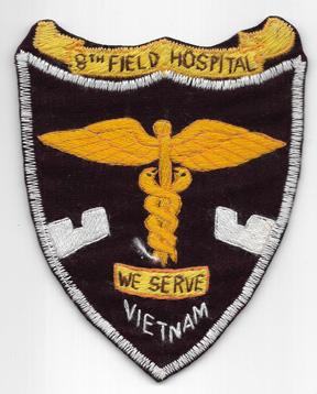Vietnam 8th Field Hospital Pocket Patch