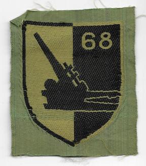ARVN / South Vietnamese Army 68th Artillery Battalion Patch