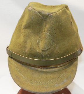 WWII Japanese New Old Stock Green Home Front Field Cap