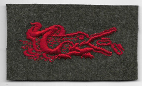 WWII US Navy Attached To Marine Corps Amphibious Specialty Patch