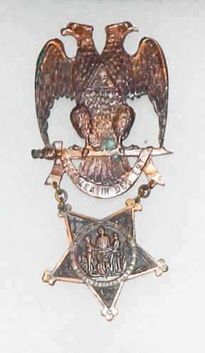 1900's-1910's Masonic GAR Badge / Medal