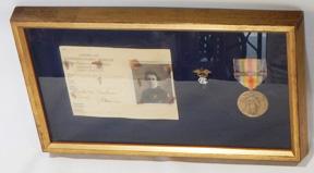 AEF Nurses ID Card Collar Device & Medal Group