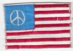 Vn Era Peace Flag Novelty Patch
