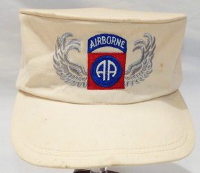 1950's 82nd Airborne Honor Guard Embroidered Ridgeway Cap