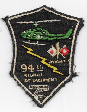 Vietnam 94th Avionics Signal Detachment Pocket Patch