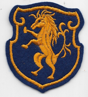 WWII 6th Cavalry Group Patch On Felt