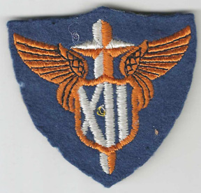 WWII 12th Tactical Air Force Patch