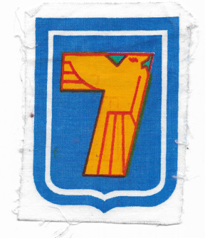 ARVN / South Vietnamese Army 7th Division Patch