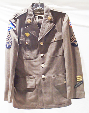 WWII US Army 7th Air Forces  Service Coat