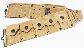 US Army M-1910 Khaki Cartridge Belt