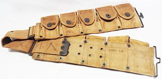 WWI M-1910 Round Pocket Cartridge Belt