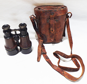 British Binoculars With The Case