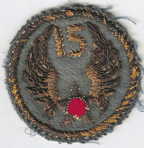 WWII Italian Made 15th Air Force Patch