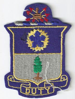 WWII 21st Infantry Pocket Patch