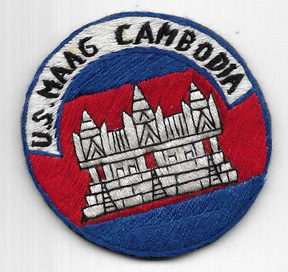 Vietnam MAAG Cambodia Pocket Patch