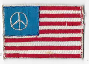 Vietnam Peace Flag Patch
