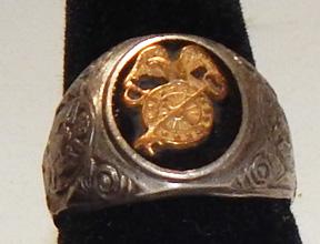 WWII Quartermaster Mens Ring