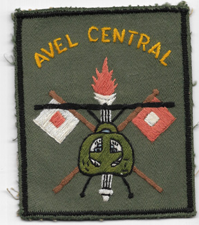 Vietnam 34th Signal Support Group Pocket Patch