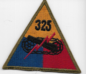 WWII 325th Tank Battalion Patch