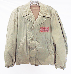 WWII Identified US Navy N-4 Jacket with Seabees Art