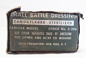 Small Battle Dressing Camouflaged