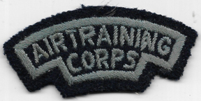 WWII RAF Air Training Corps Shoulder Title / Patch