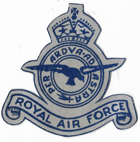 Royal Air Force Flocked Patch