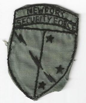 Vietnam Newport Security Force Patch