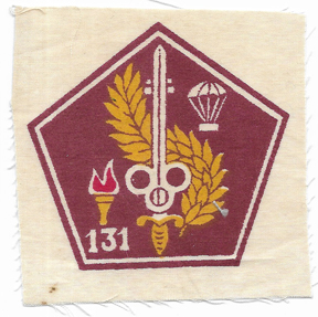 ARVN / South Vietnamese Army 131st Airborne Quartermaster Directorate Patch