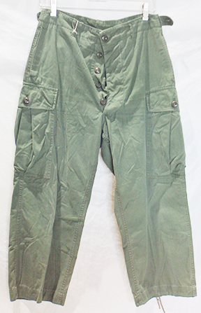 1st Model Exposed Button Jungle Trousers