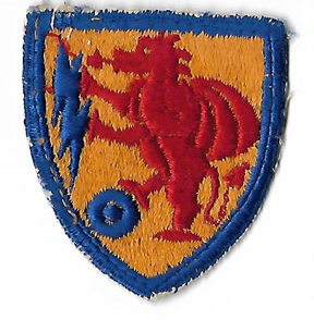 WWII 2nd Chemical Mortar Battalion Patch