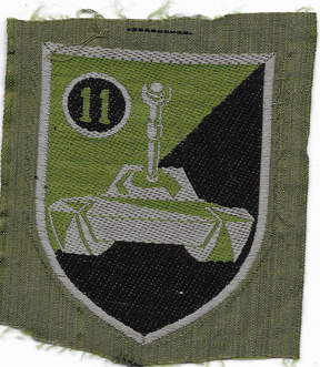ARVN / South Vietnamese Army 11th Armor Squadron Patch