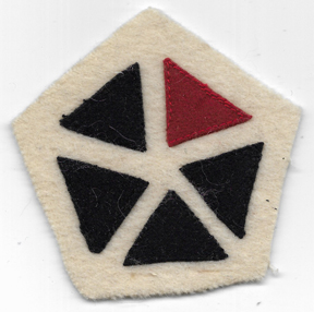 WWI 5th Corps Artillery Patch