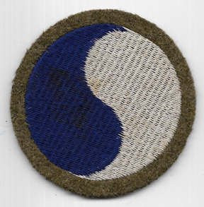 Pre-WWII 29th Division Woolie Patch